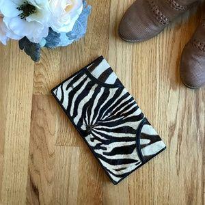 Handbags - Vintage *real* Zebra Clutch